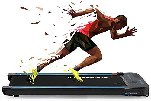 Treadmill for Home,Under Desk Treadmill Portable Walking...