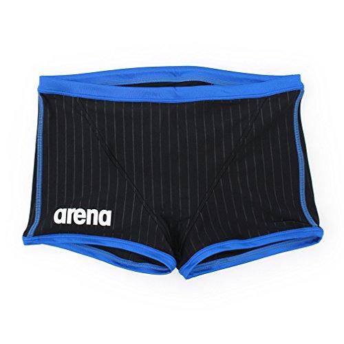 arena(アリーナ) トレーニング 練習用 競泳水着 メンズ タフスーツ ショートボックス SAR-6102 BKBU(Kブラック×Kブルー×ブルー) M