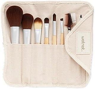 Wotnot High Quality Bamboo & Vegan Makeup Brush Set (8 pcs)