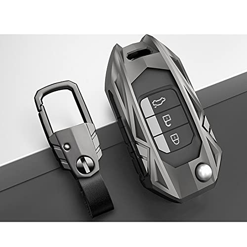 YWhjklb Funda con Bolsillo para Llave de Coche, para Honda Civic CR-V HR-V Accord Jade Crider Odyssey 2015-2018 Protector de Accesorios remotos