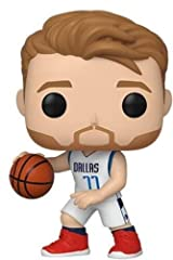 From NBA, Luka Donic, as a stylized POP vinyl from Funko Figure stands 9cm and comes in a window display box Check out the other NBA figures from Funko & Collect them all Funko POP. is the 2018 Toy of the Year and People's Choice award winner