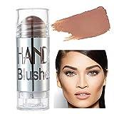GL-Turelifes Blush Stick Blush Cream Lápiz de colorete hidratante, iluminador y recortador, colorete en barra que aumenta el brillo y el estado de ánimo El maquillaje de mejillas agrega brillo (#08)