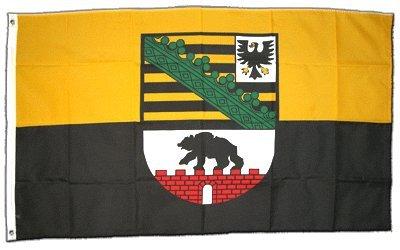 Flagge Deutschland Sachsen-Anhalt - 60 x 90 cm