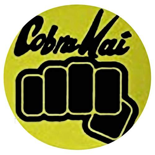 Cojín Cojín de Asiento de Espuma viscoelástica Redondo Cobra Kai Fist Cojín súper Acogedor Cojín Suave para Interior