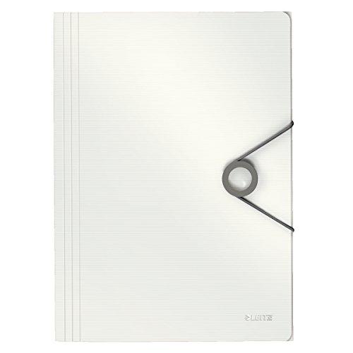 Leitz 45631001 Solid Eckspannermappe PP A4, weiß