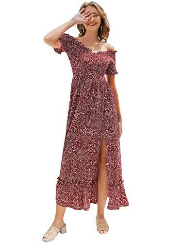 Off the Shoulder Polka Dot Wedding Dress