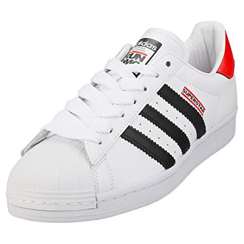 adidas Superstar 50 Run Dmc - Zapatillas clásicas para hombre, color Blanco, talla 41 1/3 EU