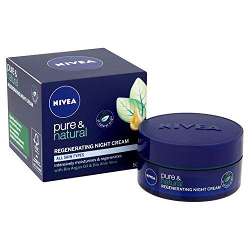 Nivea Visage puro y natural de recuperación de noche 50ml