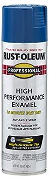 Professional 7527838 Spray Paint High Performance Enamel 6 Pack Gloss Royal Blue