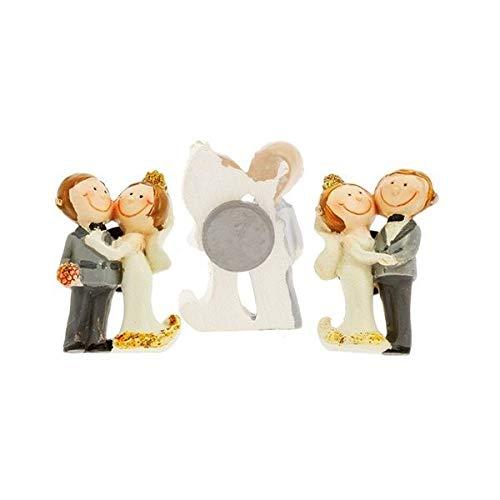12 PEZZI Calamita magnete sposi sposini ORO nozze anniversario 50 anni m
