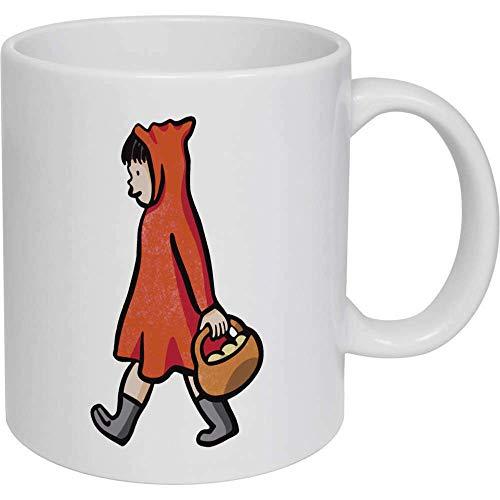 Taza de café, taza de té, caperucita roja, taza de cerámica, regalo para mujeres y hombres