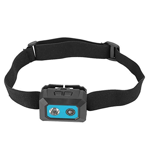 Kopfkamera, Kopf-Mini-DV-Sportkamera, tragbarer Popout-Tf-Kartensteckplatz Toy Racing für Luftaufnahmen Home Klettern im Freien(Black blue)