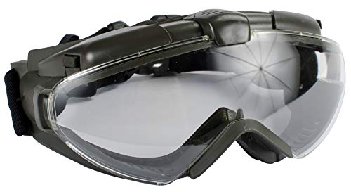 Evike Airsoft - Avengers Turbo Fan Airsoft Goggles (Color: OD)