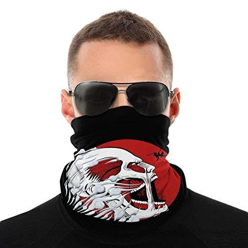 Attack On Titan Balaclava Variety Head Scarf Unisex Soft Windproof Headband for Sports Hiking