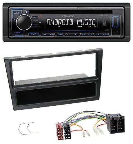 caraudio24 Kenwood KDC-110UB 1DIN MP3 USB CD AUX Autoradio für Opel Agila Combo Vivaro Corsa C Omega 2001-2004 schwarz