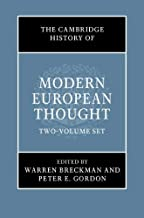 The Cambridge History of Modern European Thought 2 Volume Hardback Set