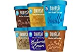 Sweetie Ice Cream- Low Fat -Low Calorie-Low Sugar-High Protein, Variety Pack, Pint (6 Pack)