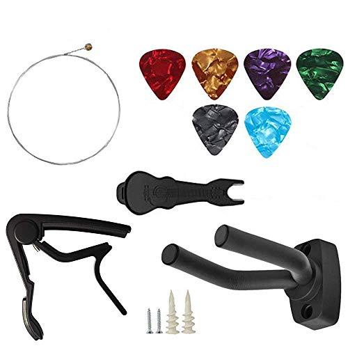 Z ZAFFIRO 10 PCS Kit di accessori per chitarra Kit...