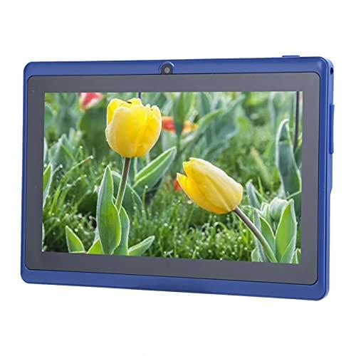 FOLOSAFENAR Tablet PC de Almacenamiento Interno de 8 GB Tablet PC para niños Silicona Suave y Ligera a Prueba de Sudor, para(European regulations)