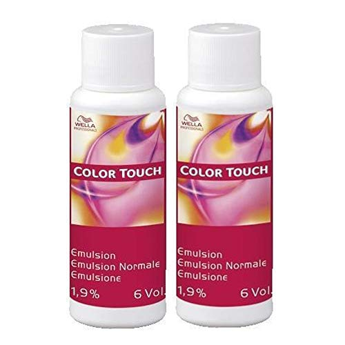 2er Wella Professionals Color Touch Emulsion 1,9% 60 ml