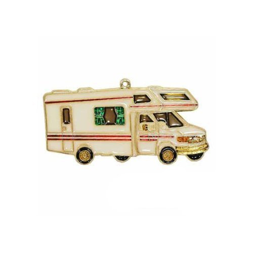 EZ Travel Collection RV Christmas Tree Ornament Class C Camper