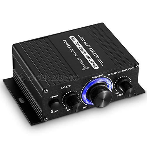 Stereo Motorrad Auto Leistungsverstärker Mini 12V Auto Boot Home Digital Audio Amp Verstärker (mit Netzteil)