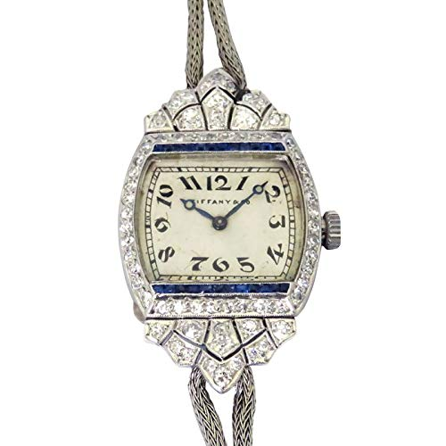 ティファニー TIFFANY 手巻き 腕時計 シルバー文字盤 中古 レディース (W125457) [並行輸入品]
