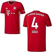 adidas Bayern Trikot Home Kinder 2021, Spielerflock (zzgl. 10.00EUR):4 Süle, Gr??e:140