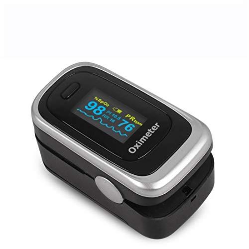 FDA Verwijst Naar Clip-On Oximeters,Vingerpulsoximeter,Ademhalingsfrequentie PI-Slaapmonitoring Met OLED-Scherm,Geschikt Voor Volwassenen En Kinderen,C6