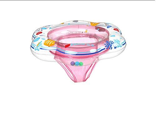 N-B Anillo de natación de Seguridad para bebés Anillo Flotante de Cisne Inflable para niños Anillo de natación de Juguete Divertido Asiento de Barco