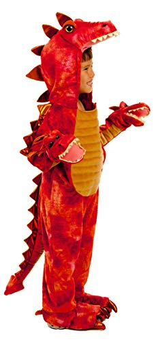 Image of the Princess Paradise Hydra The 3-Headed Dragon Child's Costume, Small Red