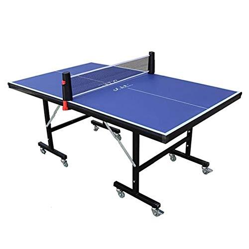 Stoge 2020 Kompakte Tischtennisplatten, Mit Ping-Pong-Ball Und Paddel Schnellmontage, Folding Allwetter Tischtennisplatte