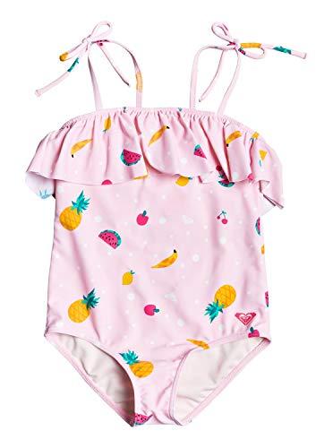 ROXY LOVELY ALOHA ONE PIECE Zwemkleding filles Roze/Shadow/Fruit/Salad Badpak