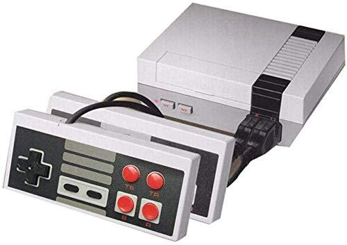 Clásico juego Consola Retro Mini versión 620 Classic Games Retro Classic blanco y negro Game Console Sistema Built in 620 TV Video juego con controladores duales jugadores