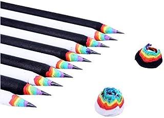 アヨミ(AYOMI) 鉛筆 HB(お得な10本セット)Rainbow Pencils えんぴつ エンピツ ペンシル かわいい 虹 にじ おしゃれ プレゼント ギフト 文房具 ステーショナリー おもしろ雑貨のシンシア プレゼント 虹の鉛筆 可愛い...