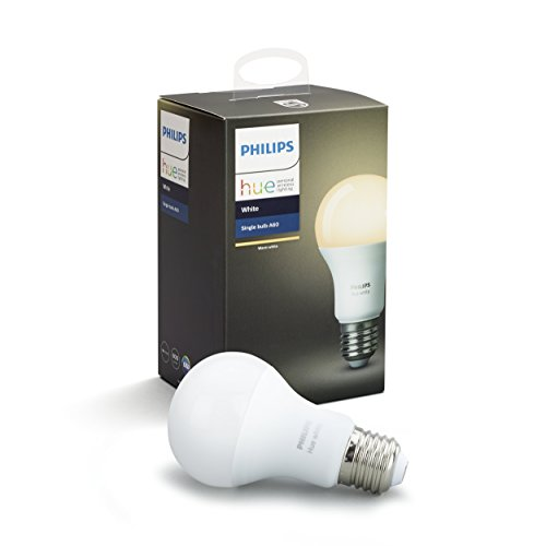 Philips Hue White Bayonet Cap (B22) Dimmable LED Smart Bulb (Compatible with Amazon Alexa, Apple HomeKit and Google Assistant)