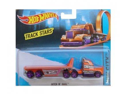 Hot Wheels Hitch n'haul Camion Orange et Gris