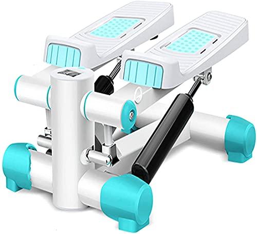 XWZ Mini Stepper, Twist Stepper Machine con Bandas De Resistencia, Fitness Stepper, Twisting Stepper Máquina De Ejercicio, Gym Stepper para Entrenamiento En Casa