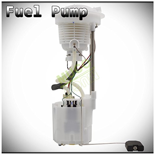 MUCO New 1pc Electric Intank Fuel Pump Module Assembly w/Level Sensor Sending Unit Fit Dodge Ram 04-07 1500 08 34 Gallon Tank 05-09 2500/3500 4.7L/5.7L V8 Gas Engine E7186M