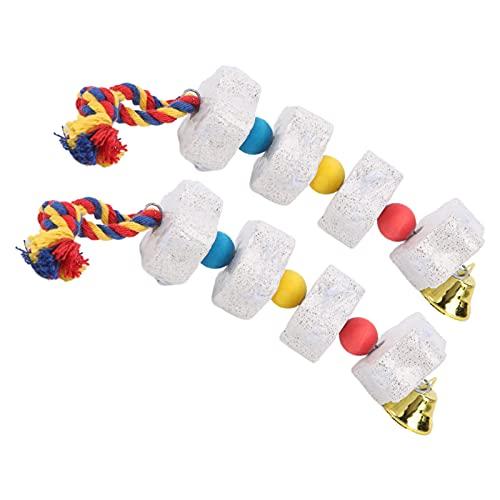 Giocattoli per pappagalli, giocattoli da masticare per parrocchetti sicuri per pappagalli per animali domestici