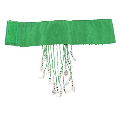 kowaku Bracelet de Danse du Ventre Accessoires de Danse Orientale Bijoux Bijoux de Vêtements de Danse - Vert