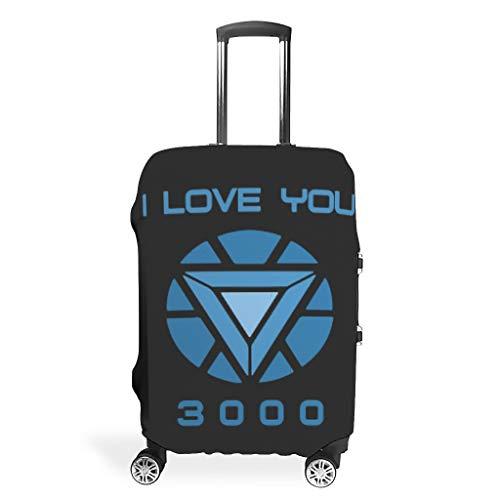 I Love You 3000 Arc Reactor Maleta Protector Duradera Lavable Se adapta a 18 – 32 Pulgadas para Maleta con Ruedas, blanco (Blanco) - Xuanwuyi5462