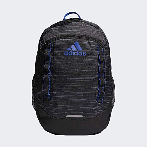 adidas Unisex Excel Backpack, Looper Black/Collegiate Royal, ONE SIZE