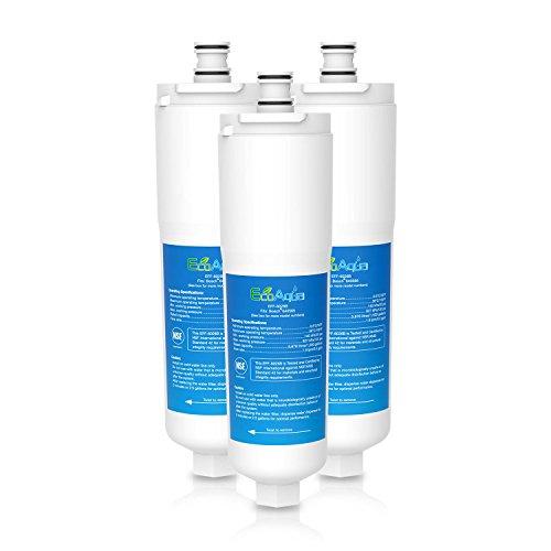 EcoAqua EFF-6026B Filtre de Réfrigérateur à Eau Compatible avec 3M OCS CS-52, CS-51 Bosch Evolution 500/800 (3)