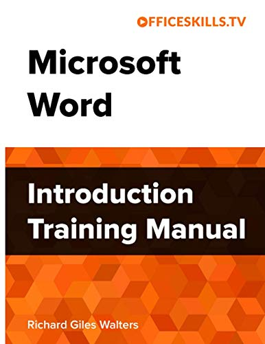 Microsoft Word Introduction Training Manual - Full Colour