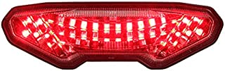 Integrated Sequential LED Tail Lights Clear Lens for 2014-2016 Yamaha FZ-09 15-17 FJ-09 19+ Tracer 900