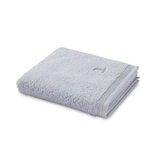 möve Superwuschel Handtuch 50 x 100 cm aus 100% Baumwolle, silver