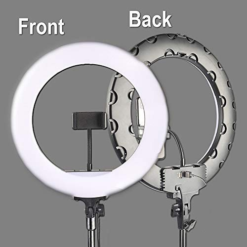 14inch / 36cm dimbare LED-Ring Light, make-up Video Ring Lamp Fotograferen met Phone Holder Statief voor selfie Camera Shoot