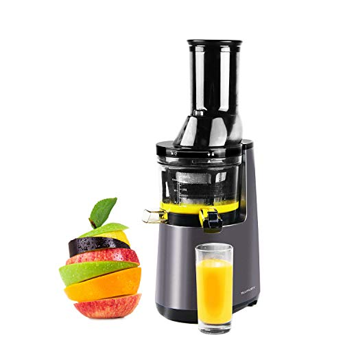 """Slow Masticating Juicer Extractor, Cold Press Juicer,Cold Press Juicer Machine with 3"""" Big Mouth,Easy to Clean and Use for All Fruits and Vegetables"""