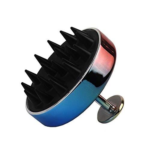 Kopfhautmassagekamm Massage Comb - Silikon-Anti-Schuppen-Shampoo Anti-Juckreiz-Bürste Erwachsene Unisex Shampoo Kamm Sauber Shampoo Artifact Scratcher Massage Entspannung und Dekomprimierung Comb Einf